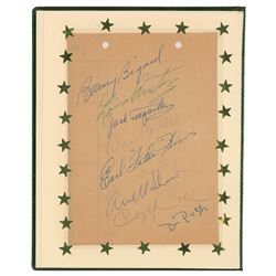 Louis Armstrong and Band Signatures