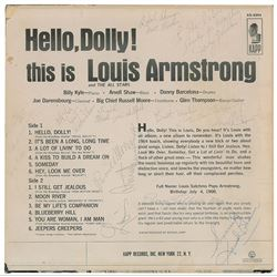 Louis Armstrong and Band Signed Album
