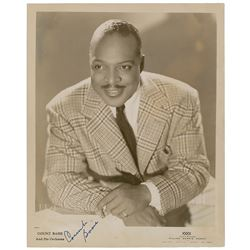 Count Basie Signed Photograph