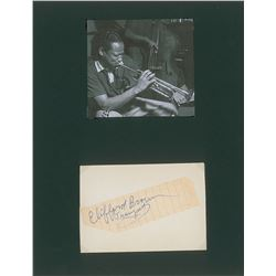 Clifford Brown Signature