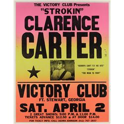 Clarence Carter Victory Club Poster