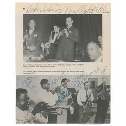 Clef Recording Signed Photograph
