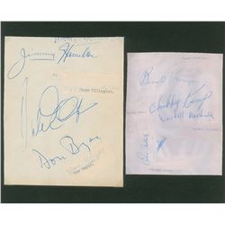 Duke Ellington's Orchestra Signatures