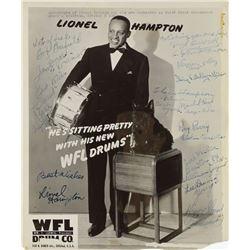 Lionel Hampton Orchestra Signed Photograph