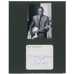 John Lee Hooker Signature