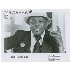 John Lee Hooker Signed Photograph