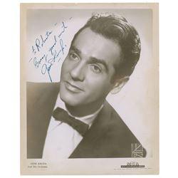 Gene Krupa Signed Photograph