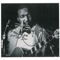 J. B. Lenoir Signed Photograph