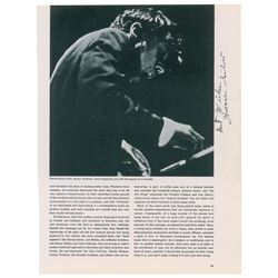 Horace Silver Signed Photograph