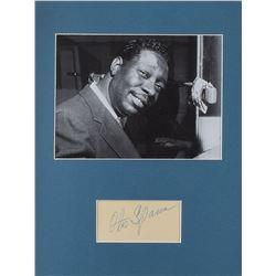 Otis Spann Signature