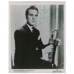 Jack Teagarden Signed Photograph