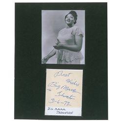 Big Mama Thornton Signature