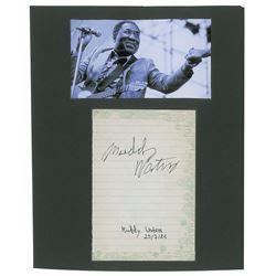 Muddy Waters Signature