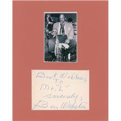 Ben Webster Signature