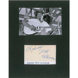 Robert Pete Williams Signature