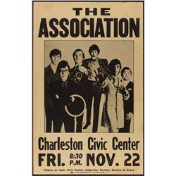 The Association 1968 Charleston Poster