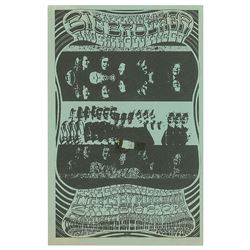 Big Brother and the Holding Company 1968 San Diego Handbill