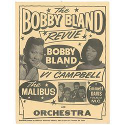 Bobby Bland Revue Handbill