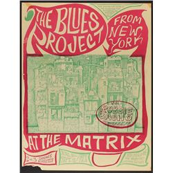 The Blues Project 1966 San Francisco Poster