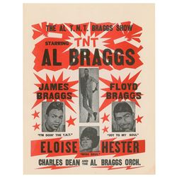 Al Braggs Show Handbill