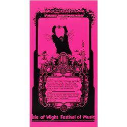 Isle of Wight Festival 1969 Poster