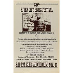 River City Blues Festival Poster