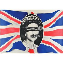 The Sex Pistols 'God Save the Queen' Poster