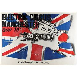 The Sex Pistols 1976 'Anarchy in the U.K.' Electric Circus Poster