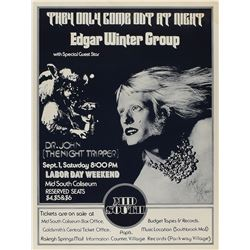 Edgar Winter Group 1973 Memphis Poster