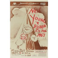 Neil Young, Booker T. and Blind Melon 1996 Fiddler's Green Poster
