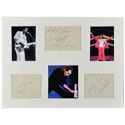 Chuck Berry, Jerry Lee Lewis, and Little Richard Signatures