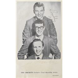 Buddy Holly and the Crickets Signed Photograph