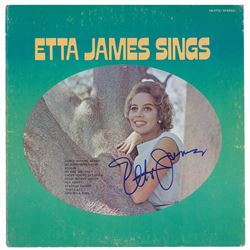 Etta James Signed Album
