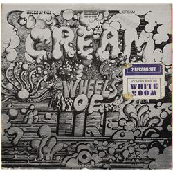 Cream Signed 'Wheels of Fire' Album