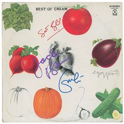 Cream Signed Album