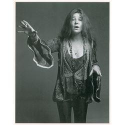 Janis Joplin Original Photograph by Francesco Scavullo