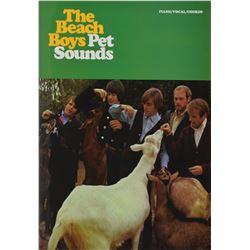 The Beach Boys: Brian Wilson Signed Piano Music Book