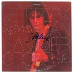 Jeff Beck Signed Album