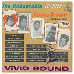 James Brown Signed Album