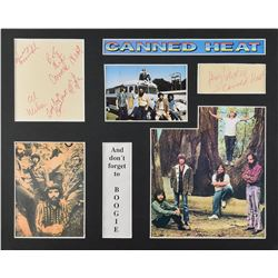 Canned Heat Signatures