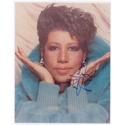 Aretha Franklin Signed Photograph