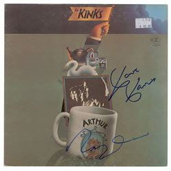The Kinks Signed Albums