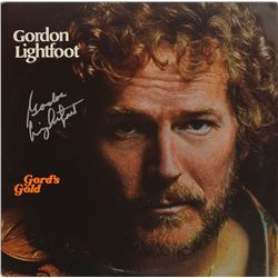 Gordon Lightfoot Signed Guitar and Album