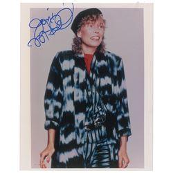 Joni Mitchell Signed Photograph