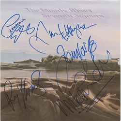 The Moody Blues Pair of Signed Albums
