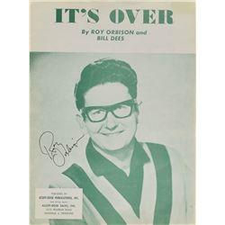Roy Orbison Signed Sheet Music
