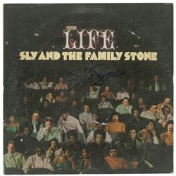 Sly Stone Signed Albums