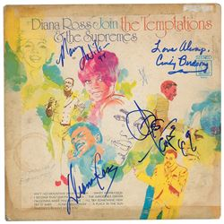 The Supremes Signed Album