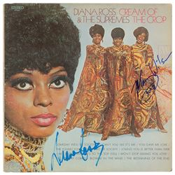 The Supremes: Diana Ross and Mary Wilson Signed Albums