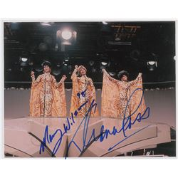 The Supremes: Diana Ross and Mary Wilson Signed Photograph